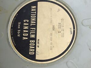 Canada at war 16 mm B&W film reels