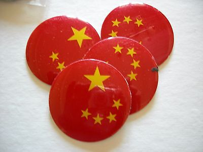 CHINA FLAG WHEEL CENTER CAP EMBLEMS  ALUMINUM STICKERS DECAL 4