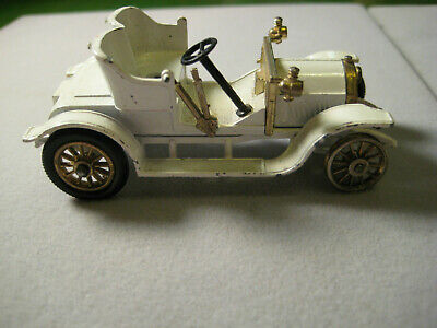 Vintage Matchbox Lesney Models of Yesteryear White Opel Coupe - READ!!!