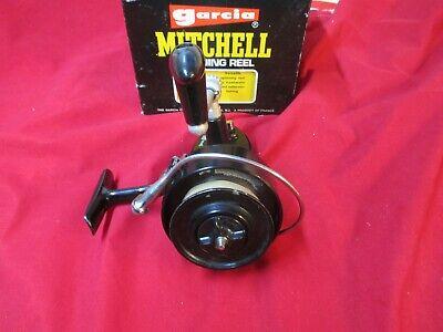 Vintage Garcia Mitchell 306 Saltwater Casting Fishing Reel, in Box