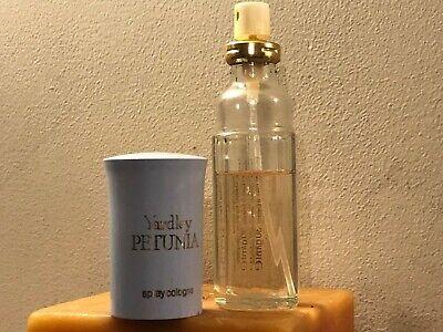 YARDLEY PETUNIA SPRAY COLOGNE scent PERFUME PARFUM SPRAY 60% OF 30ml BOTTLE