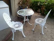 3 PEICE METAL OUTDOOR SETTING / PADIO OR GARDEN Murrumba Downs Pine Rivers Area Preview