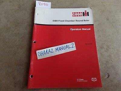 Case 8480 Fixed Chamber Round Baler Operators Manual 9-18323