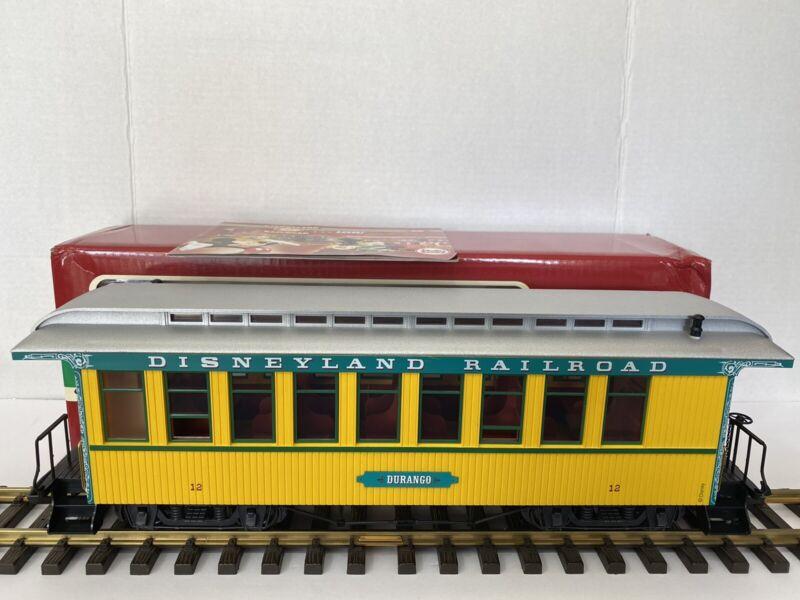 Lgb Disney 33807 Durango Yellow Disneyland Railroad