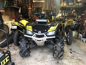"2011 Can-Am Outlander 800XXC 30"" Silverbacks QUICK SALE !"