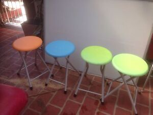 Stools - multi colour Eastwood Ryde Area Preview