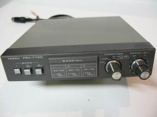 Yaesu FRV-7700 VHF Converter  for Yaesu FRG-7700 Communications Receiver