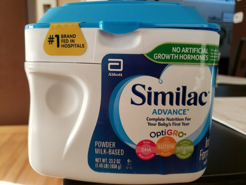 Similac Advance Optigro Infant Formula 1.45lb / 23.2 oz. 12/1/2022