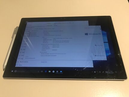 Microsoft Surface Pro 4 (cracked screen)