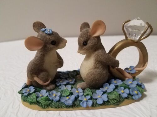 FITZ AND FLOYD  CHARMING TAILS - I HAVE A QUESTION FOR YOU ITEM 89/603 BRAND NEW