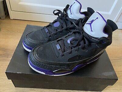 Nike Air Jordan Son Of Mars UK7.5 Black/ Purple Grape Ice Retro