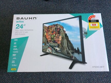 Brand new Bauhn TV with DVD player never used