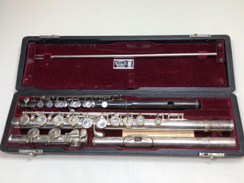 AMAZING!William S Haynes 1953 Handmade flute/1912 conical piccolo combo