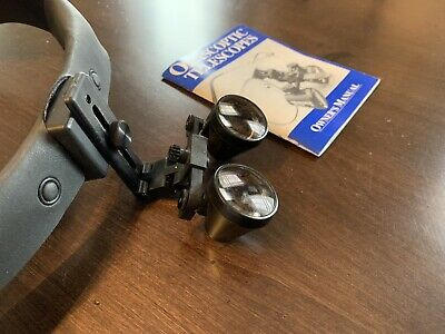 Orascoptic Dental Loupes 2.0x Magnification With Headset And Case