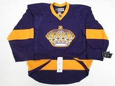 LOS ANGELES KINGS AUTHENTIC VINTAGE PURPLE REEBOK EDGE 2.0 7287 HOCKEY JERSEY