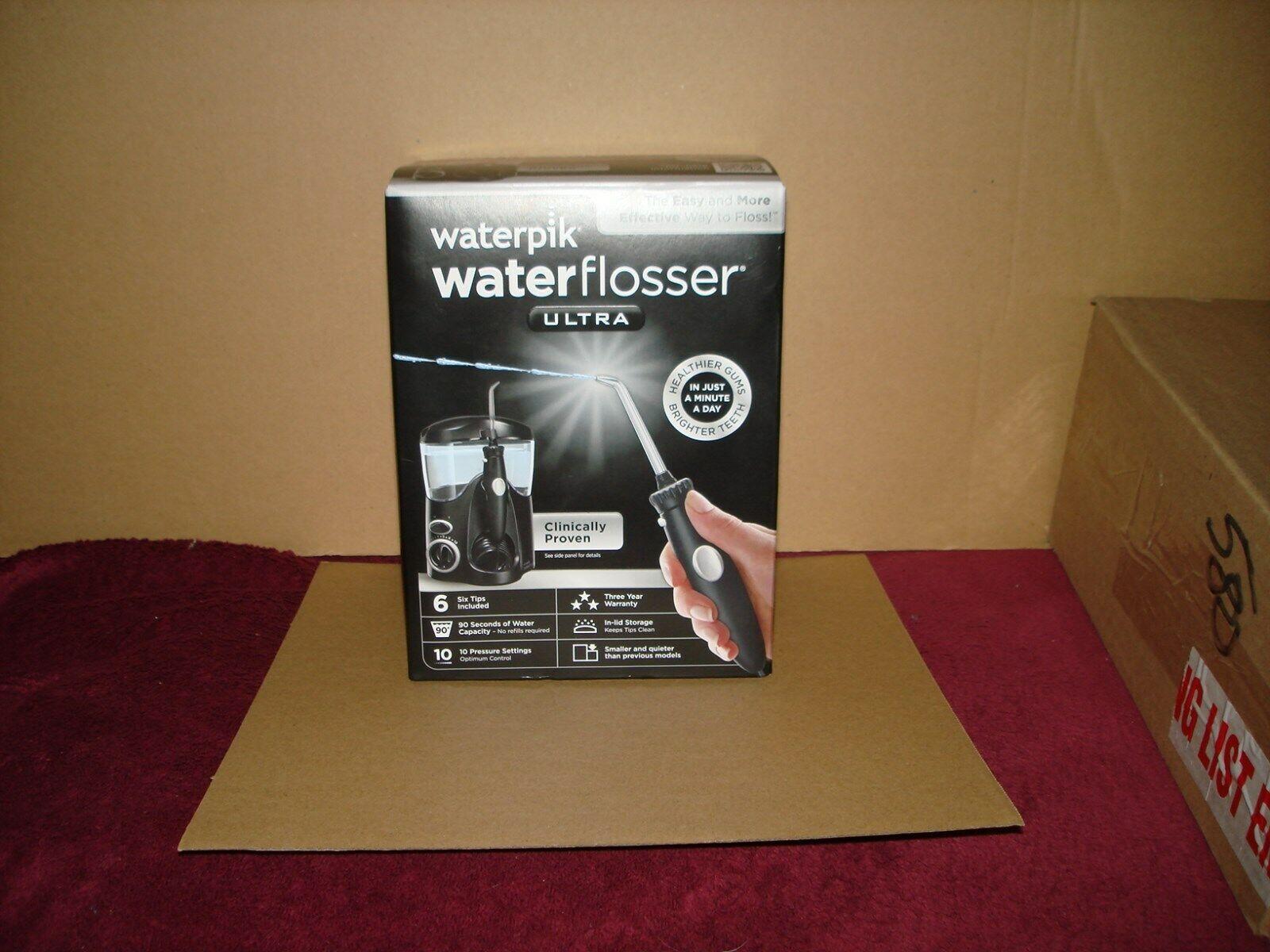 Waterpik - Ultra Water Flosser - Black/clear
