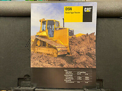 Caterpillar Challenger D5n Track-type Tractor Dozer Brochurecatalog 2004