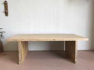 Bowling alley timber Dining table