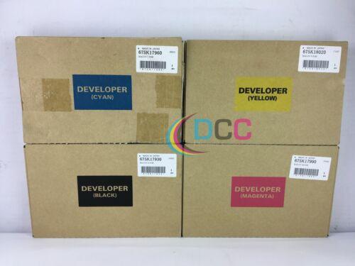 OEM Xerox Docucolor 240 CMYK Developer Set 675K17