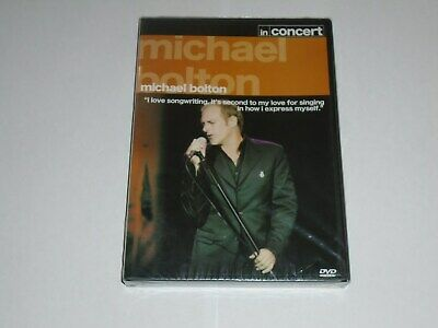 MICHAEL BOLTON In Concert - Best Of Live DVD (Region 2) NEW &