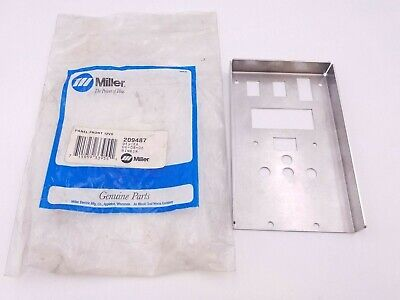 Miller 209487 Front Panel Suitcase 12vs Wire Feeder 2015-2019 Plate Cover Nos