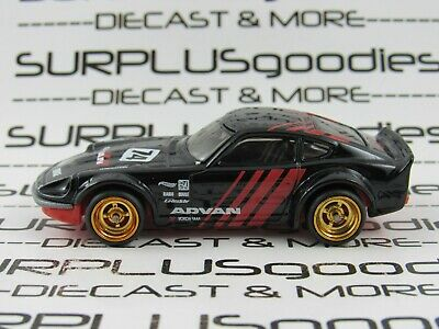 Hot Wheels 1:64 LOOSE NISSAN FAIRLADY Z Advan #74 Custom SUPER w/Real Riders
