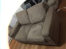 2 SEATER SUEDE LOUNGE Chatswood Willoughby Area Preview