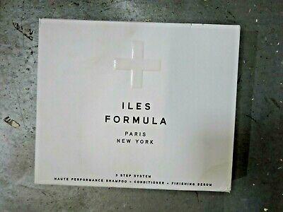 Iles Formula 3 Step System, Shampoo, Conditioner, & Finishing Serum