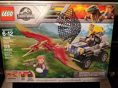 LEGO 75926 Jurassic World Pteranodon Chase NEW AND SEALED IN BOX