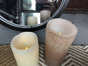 20 battery operated real wax candles Perfect for a wedding