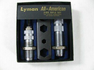 Lyman All American 2 Die Rifle Set Reloading Dies 243 Win