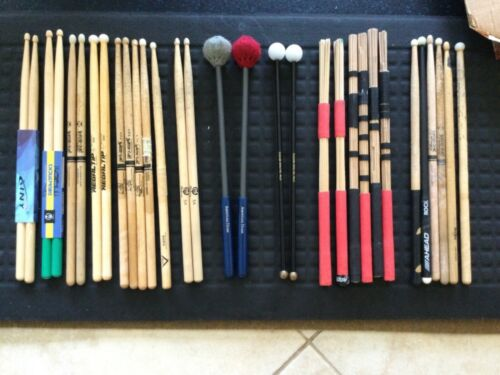 Drumsticks and Mallets