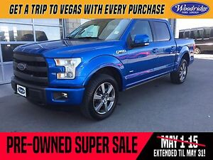 2015 Ford F-150 Lariat PRE-OWNED SUPER SALE ON NOW!