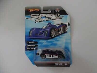 2009 Speed Machines Hot Wheels Cadillac LMP Purple 1/64