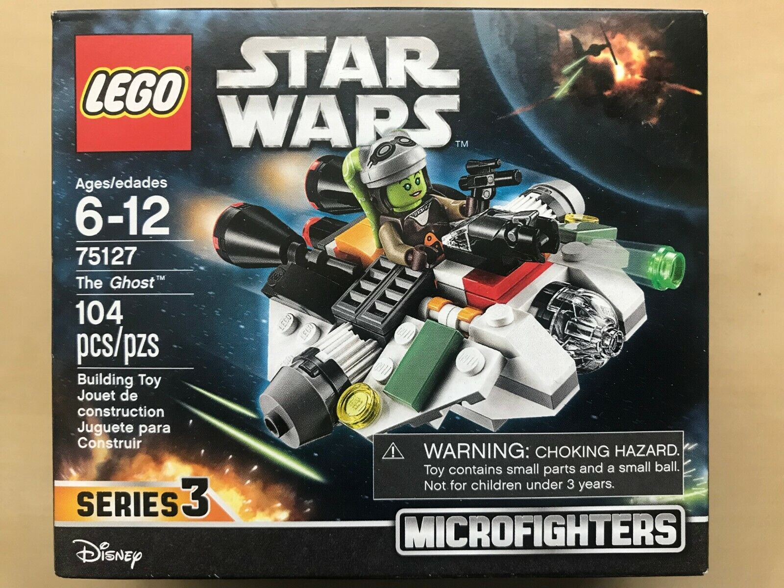 Microfighters Series 75127 The Ghost LEGO STAR WARS - Brand New in Box