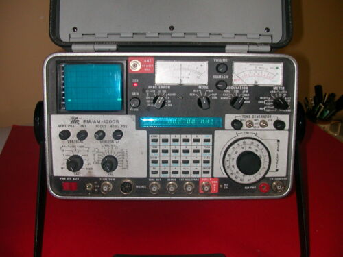 IFR FM/AM 1200S COMMUNICATIONS SERVICE MONITOR SPECTRUM ANALYZER