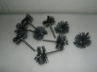 Pro Tube Brush 9pk 2 Dia 1 Brush L 3-12 Oal Silicon Carbide 120grit 63765002