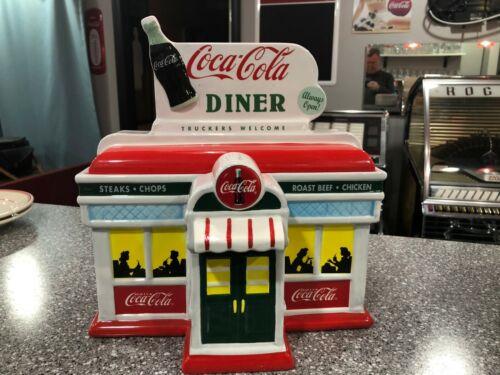 1999 Enesco Coca-Cola Diner Cookie Jar #634190