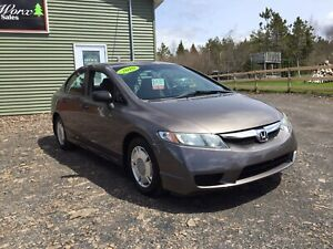 """SOLD SOLD SOLD! 2010 Honda Civic DX-G NEW """"MVI & TIRES"""" !!!"""