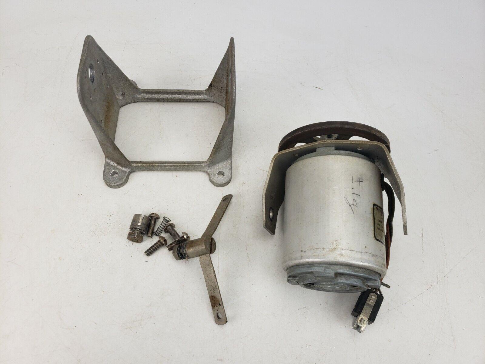 Vintage Ampex model 401A Capstan Motor Plate Reel To Reel Parts Repair AS IS #4