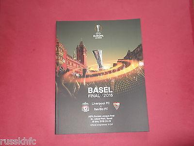 LIVERPOOL V SEVILLA 2016 UEFA EUROPA LEAGUE FINAL