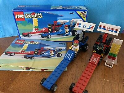 Lego System Set 1992 Dragsters 2 Drag Race Cars 1993
