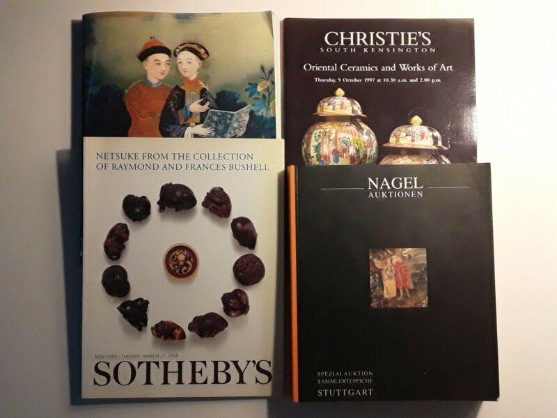 Estate Lot of 4 Asian Antique Auction Guides Sotheby