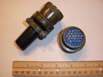 New - Ms3106a 24-28p Sr With Bushing - 24 Pin Plug