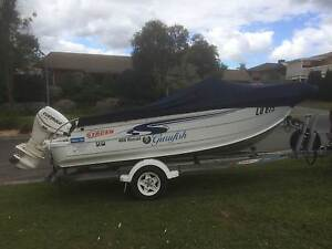 Stacer MP Nomad 4.69 metres side console 60 HP ETec Lilydale Yarra Ranges Preview