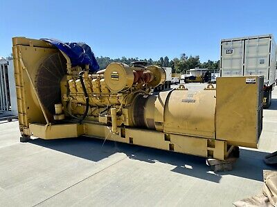 1200 Kw Cat Caterpillar 3512 Dita Diesel Generator Set Or Package W Switchgear