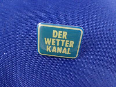 Schön Der Wetter-Kanal Pin Anstecknadel Abzeichen Sammler Selten Jörg Kachelmann