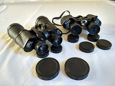 Bundle w/ Pathescope Zoom 6x 18x35 Binoculars AND Mark Sheffel 20x50 Binoculars