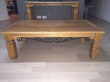 Wooden tables with wrought iron detail Abbotsbury Fairfield Area Preview