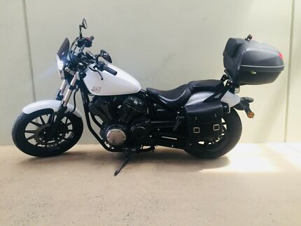 2014 Yamaha bolt 950cc may swap for car or bike